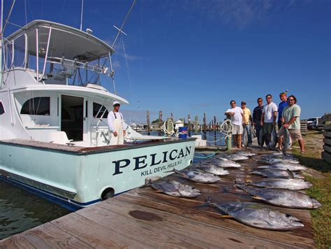 Charter Fishing Boat Outer Banks Nc by Fishing Hunting The Outer Banks North Carolina
