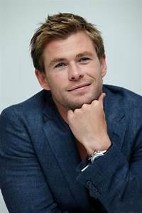 Chris Hemsworth at The Avengers: Age of Ultron Press ...  Chris