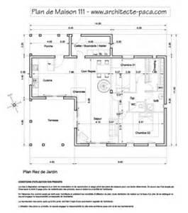 plan d une maison avec cotation tours design