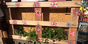 Mur Végétal En Palette : comment fabriquer un jardin ou mur v g tal avec une palette ~ Melissatoandfro.com Idées de Décoration