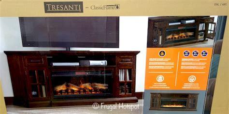 costco tresanti sloane fireplace tv console