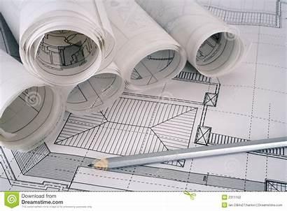 Plans Architect Series Construction Dreamstime