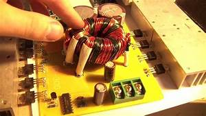 Diy 4ch Car Audio Amplifier 500w Smps   Lm3886