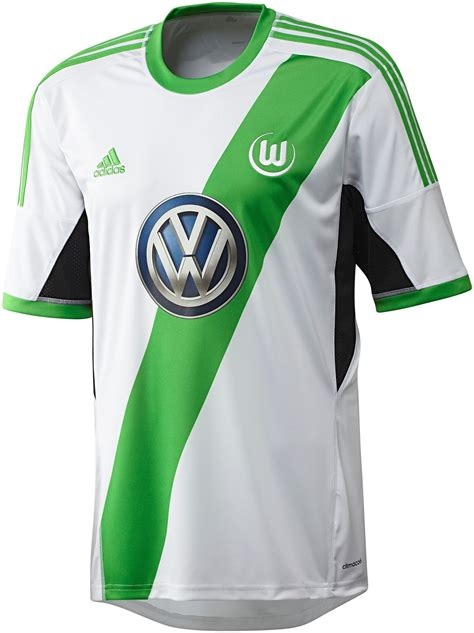 VfL Wolfsburg 13-14 (2013-14) Home and Away Kits Released ...