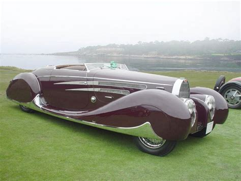 1939 Bugatti Type 57c Van Vooren Cabrioletj Vintage
