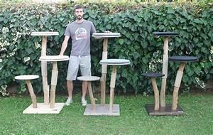 Maison Pour Chat Extérieur : arbre a chat en bois ~ Premium-room.com Idées de Décoration