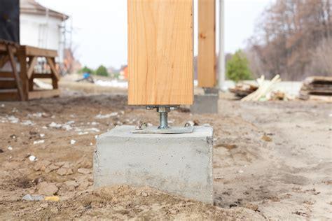 fundament tiefe berechnen fundament f 252 r pfosten bauen 187 darauf sollten sie achten