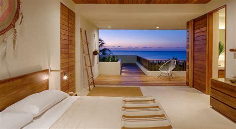 ecoluxe beachfront mexican villa  solar panel covered terrace idesignarch interior