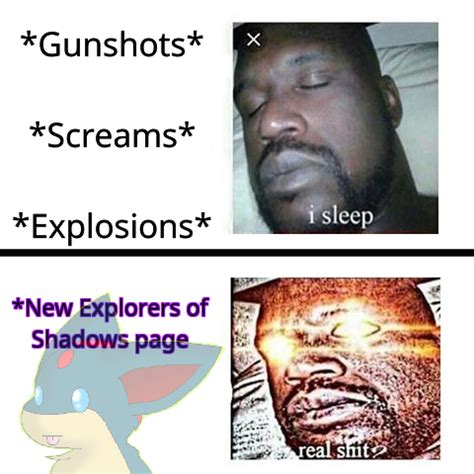 Ascended Meme - ascended eos sleeping shaq meme by ch1lly1 on deviantart