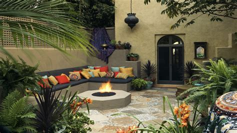 Mediterranean Patio Design Ideas Mediterranean Backyard