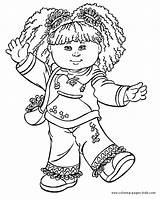 Coloring Cabbage Patch Pages Cartoon Printable Character Sheets Kid Characters Books Colouring Cartoons Sheet Cute Print Coloringpages101 Found Popular Faith sketch template