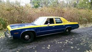 1977 Plymouth Gran Fury Brougham Police Pkg And Highway