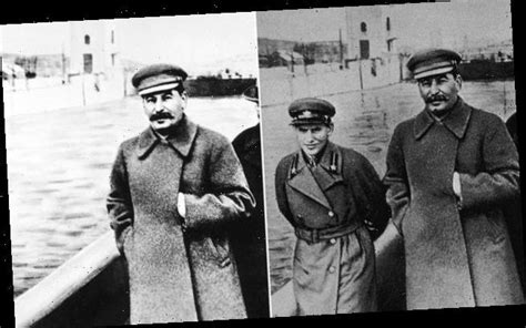 As a child of USSR, I fear pictures of Stalin show where ...