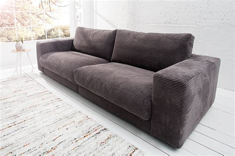 design sofa seventies von candy lifestyle grau riess