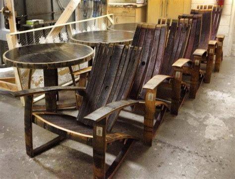 woodworking plans wine barrel chair plans  plans