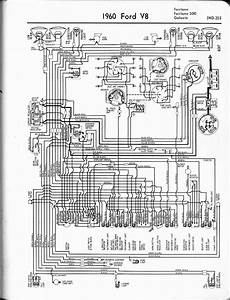 1960 Ford V8 Fairlane  500  Galaxie Wiring Diagram  59523