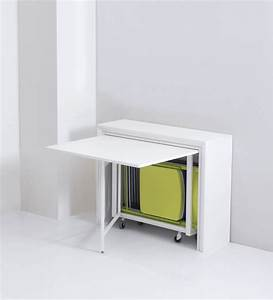 Table Pliante Avec 6 Chaises Intgres ARCHI Table