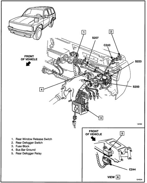 Carfusebox Chevy Blazer Alternator Connector