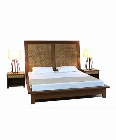 Bed Double Weave Veneer Portsidecafe