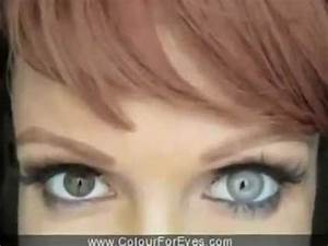 Colored contact lenses for dark and light eyes non ...
