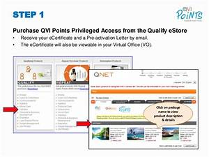 Qvi Points 6 Step User Guide