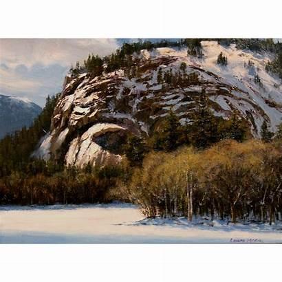 Winter Mountain Landscape Rubylane Mountains Sun Joseph