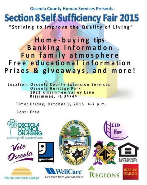 osceola county section 8 osceola county human services presents section 8 self