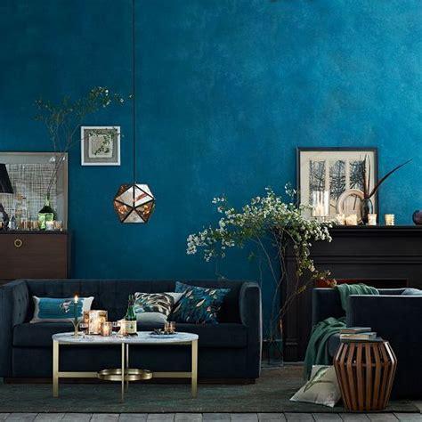 Wunderschöne Blautöne Im Wohnzimmer  Wohnzimmer @ Otto