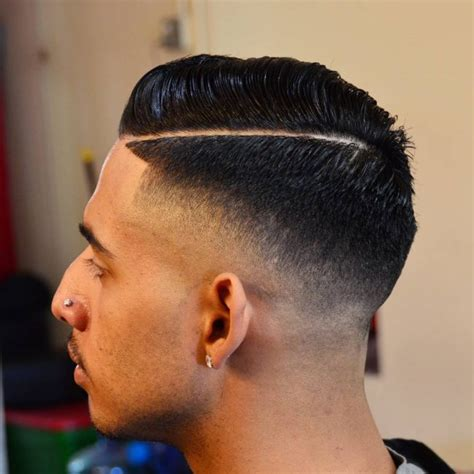 drop fade  men hairstylo