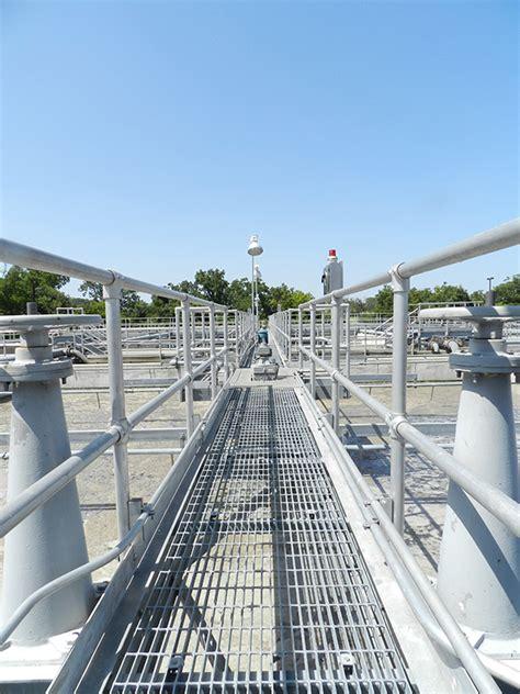 wastewater treatment plant improvements city  brenham