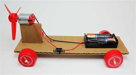 Make Electric Car by Make A Simple Electric Propeller Car Steam Science Project