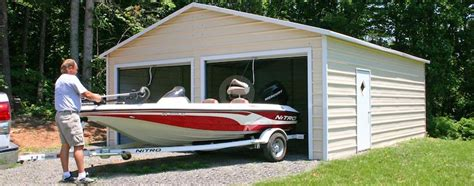 Custom Boat Covers In Maryland by Metal Boat Carport Boat Storage Sheds Steel Boat Covers