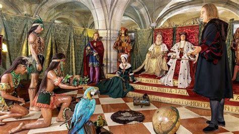 cristobal colon primer morador del museo de cera de