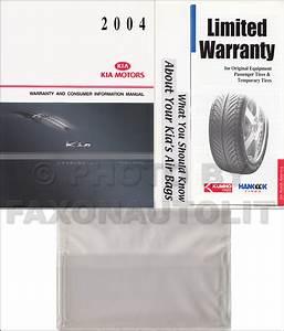 New 2004 Kia Rio Owners Manual Package Owner Guide Oem