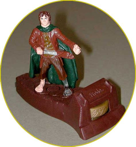 Amazon Com Burger King The Lord Of The Frodo Lord Of The Rings Burger King Toys 2001