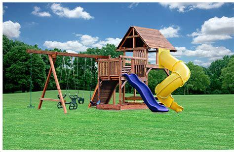 Custom Swing Sets By Kid's Creations
