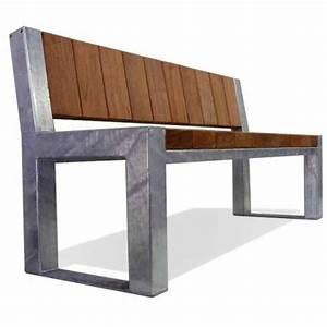 Banc Metal Bois : norcor produits bancs publics en bois ~ Teatrodelosmanantiales.com Idées de Décoration