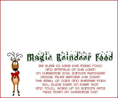 Tossed Terms Box Template by Reindeer Food Recipe And Printable The Girl Creative