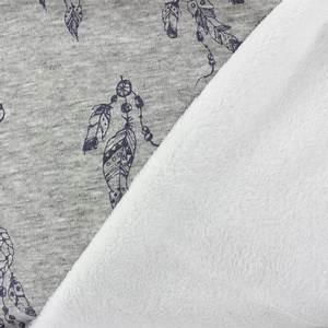Tissu Attrape Reve : tissu sweat envers minkee attrape r ves violet gris x ~ Teatrodelosmanantiales.com Idées de Décoration