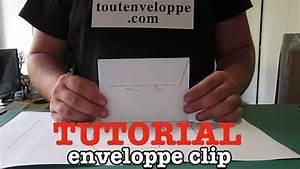 Comment Fabriquer Une Enveloppe : comment faire une enveloppe en papier clip youtube ~ Melissatoandfro.com Idées de Décoration