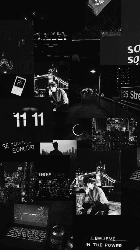 aesthetic wallpaper hitam putih