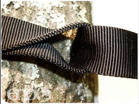 Hennessy Hammock Straps by Hennessy Hammock Suspension Great Tutorial By