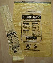 Ständer Für Gelben Sack : gelber sack wikipedia ~ A.2002-acura-tl-radio.info Haus und Dekorationen