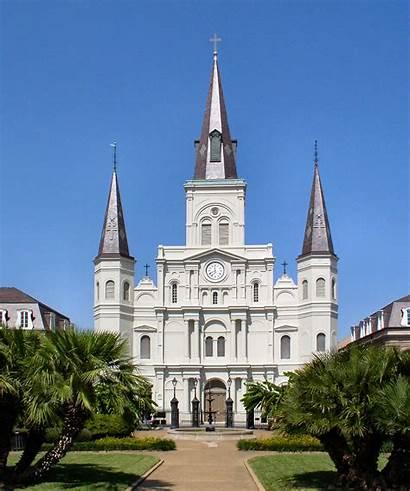 Orleans Wikipedia Cathedral Louis Nola Church Jackson