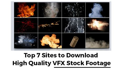 top  sites   high quality vfx stock footage