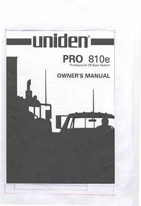 810e Manuals