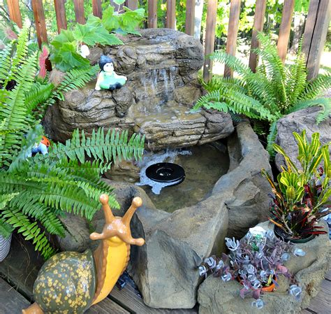 small patio pond backyard waterfall kits water features