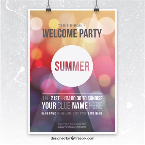 party flyer vectors   psd files