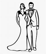 Bridegroom Groom Coloring Clipartkey sketch template