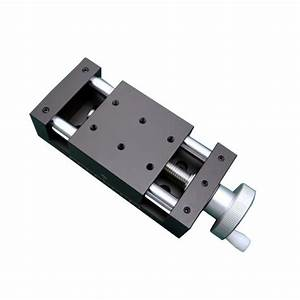 Pdv Manual Slide Table X Axis Feed Screw Simple Linear